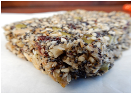 Cranberry & Mixed Seed Slice