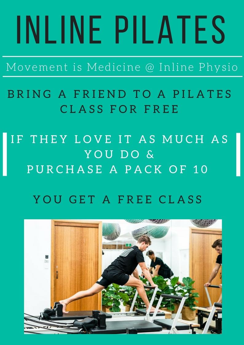 Bring a Friend Pilates