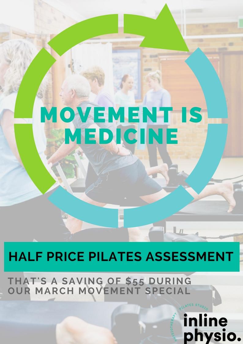 Half Price Pilates Assessment